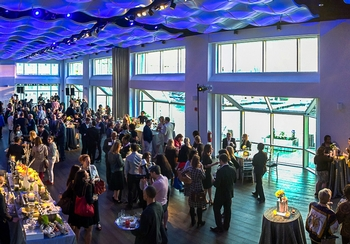 Chelsea Piers And Abigail Kirsch Open Current, A 6,000-Square-Foot Riverside Event Venue